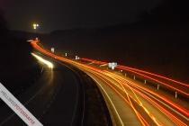 A44 vor Anschlussstelle Geseke
