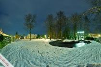 360°-Panorama mit Blick auf Haus Toholte und Gymnasium