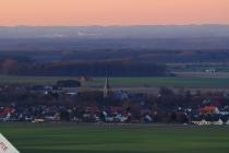 Störmede-Panorama im Abendlicht