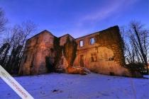 Störmeder Schloss vor dem Umbau - illuminiert