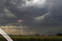 Blitzeinschlag in Störmede