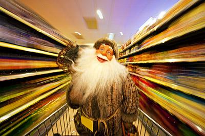 Supermarktbesuch
