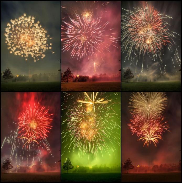 Feuerwerk im Grünen Winkel zur Lippstädter Herbstwoche 2010