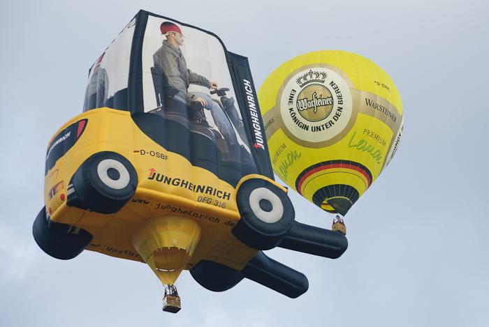 Video :: Ballonfahrt während der Warsteiner Montgolfiade 2011