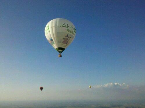 Erster Videobeitrag - Ballonmitfahrt Warsteiner Montgolfiade 2011
