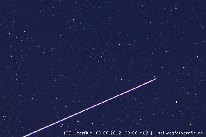 ISS-Überflug vom 09.06.2012 (Geseke)