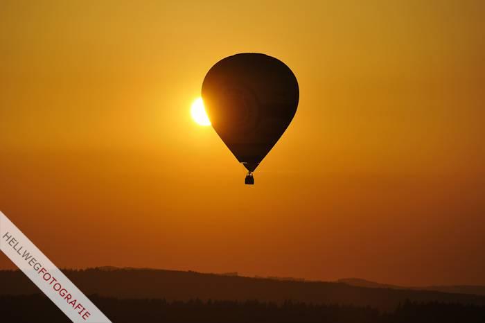 Zeitraffervideo :: 5 Ballonfahrten in 7 Minuten
