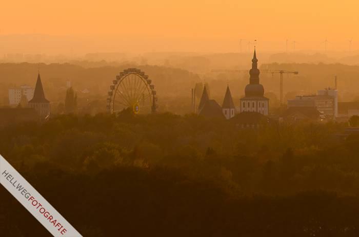 Abschluss der Lippstädter Herbstwoche in der Luft