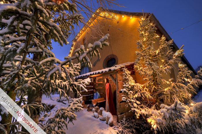 Schnee zur Adventszeit in Störmede
