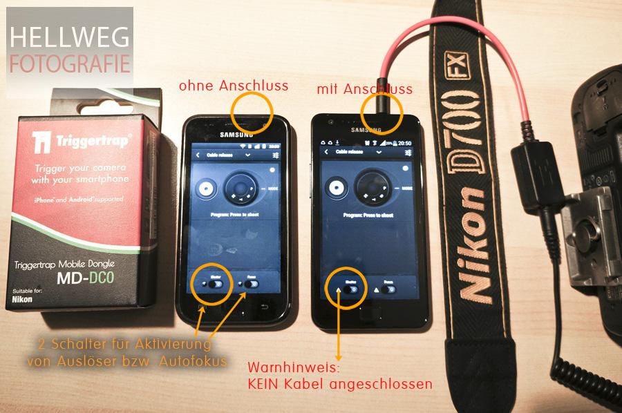 WISSEN :: Kamerasteuerung per Smartphone - ein Segen, wenn es klappt #edit: gelöst