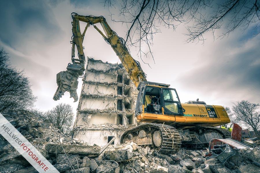 Abriss des Warsteiner Schwesternheims