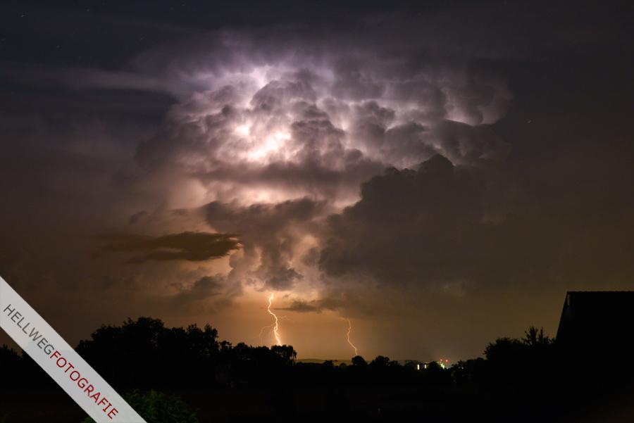 Gewitternacht von Lippstadt bis Paderborn