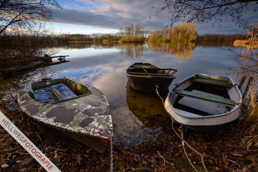 Winterliche Ruhe am Alberssee